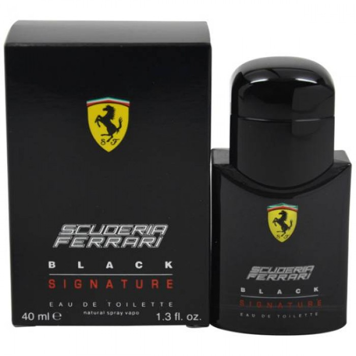FERRARI BLACK SIGNATURE Цена за Eau de Toilette мъже EDT 40ml