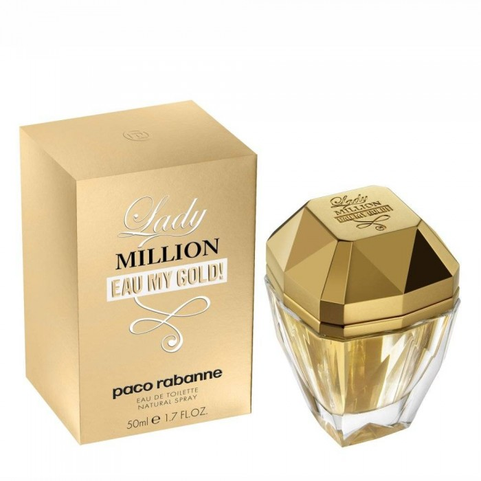 Paco Rabanne Lady Million Eau My Gold Цена за Eau de Toilette жени EDT 50ml