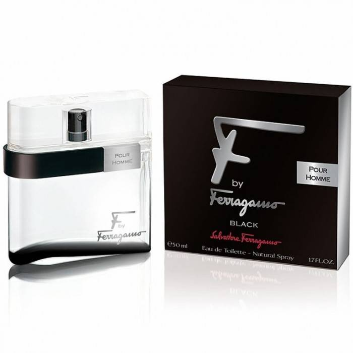 Salvatore Ferragamo F By Ferragamo Black Цена за Eau de Toilette мъже EDT 50ml